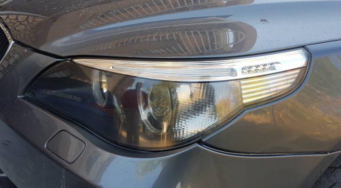 полиране на фарове BMW E60