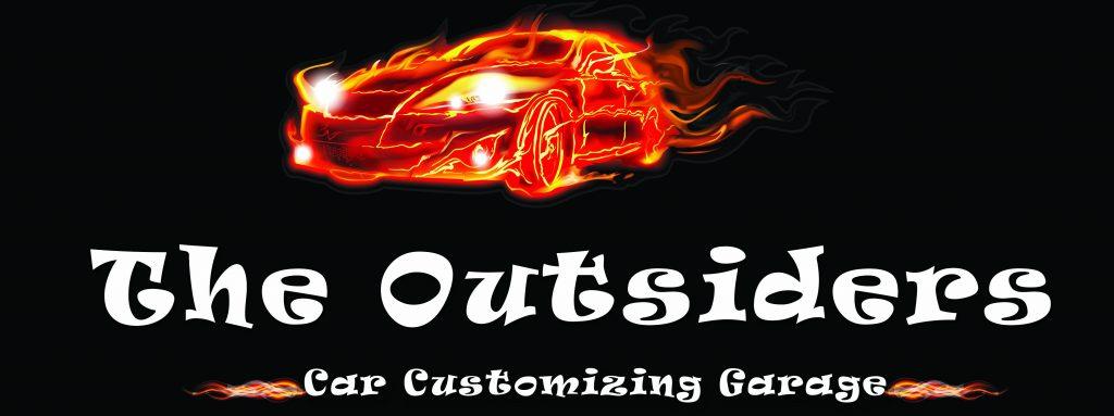The Outsiders Garage лого черно