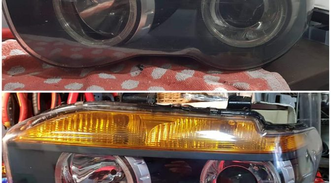 рециклиране на фарове BMW E65