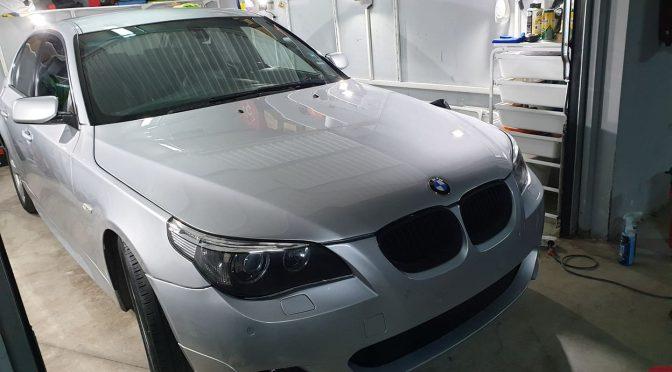Полиране на BMW E60