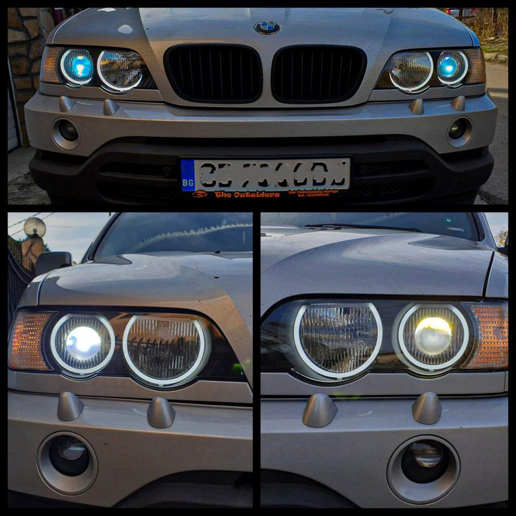 англески очи на BMW X 5