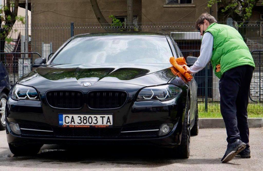 подсушаване на автомобил