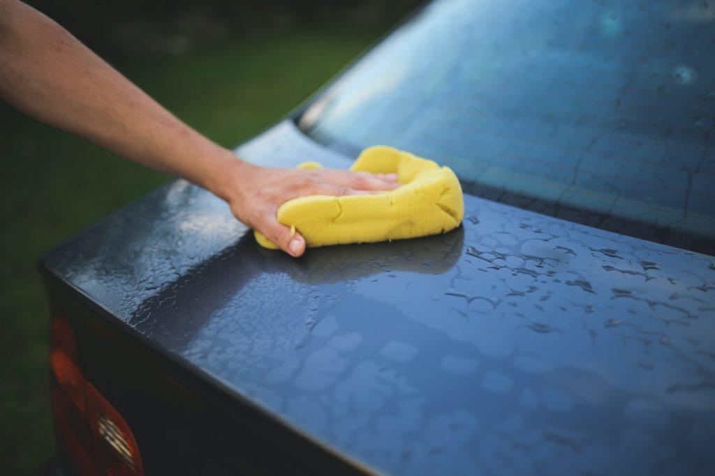 измиване на автомобил
