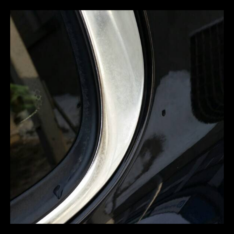 damaged chrome detail due to touchless wash безконтактни препарати